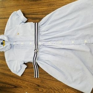Ralph Lauren belted Denim dress Size 6